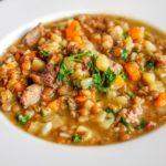 Zupa z czerwonej soczewicy na ostro