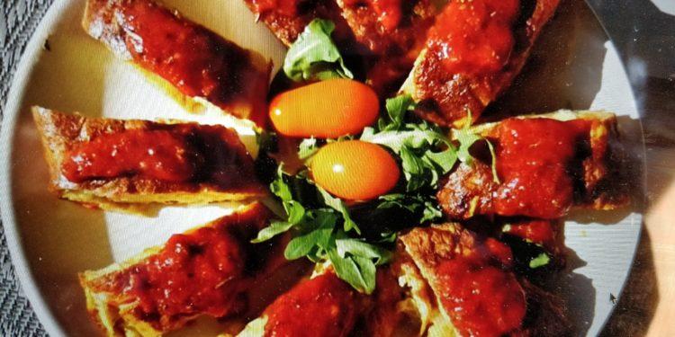 omlet na słono fotografia