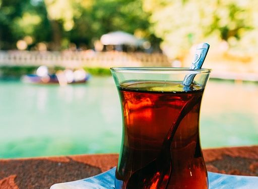 herbata z bergamotką fotografia