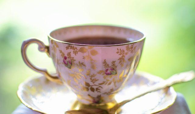 filiżanka herbaty fotografia